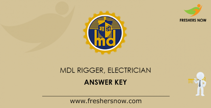 MDL Rigger, Electrician Answer Key