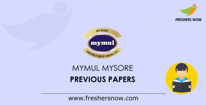 MYMUL Mysore Previous Papers