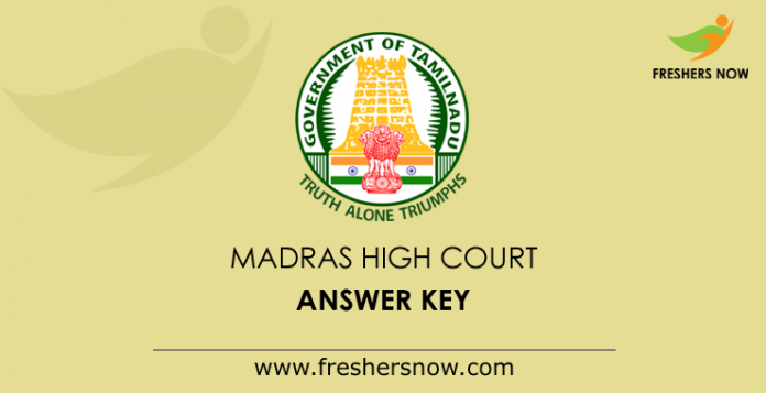 Madras-High-Court-Answer-Key