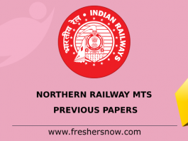 Northern Railway MTS Previous Papers