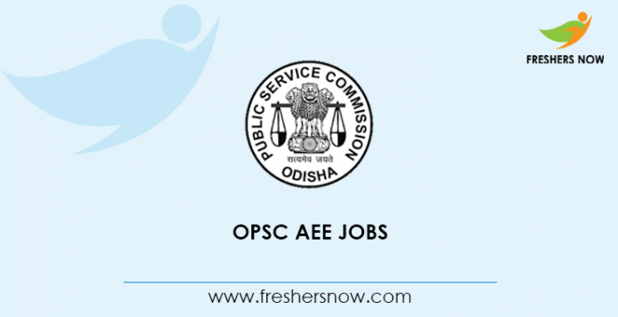 OPSC AEE Jobs