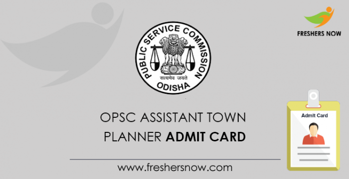 OPSC Assistant Town Planner Admit Card