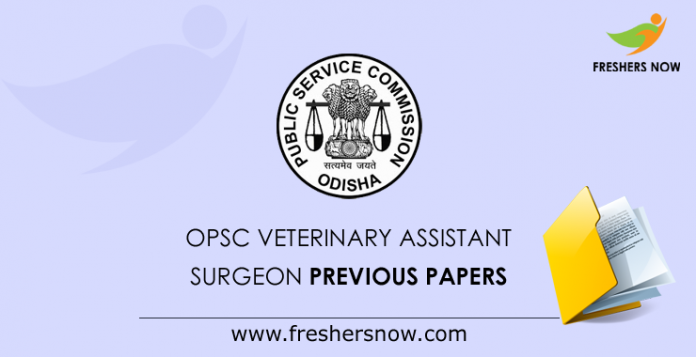 OPSC Veterinary Assistant Surgeon Previous Paper