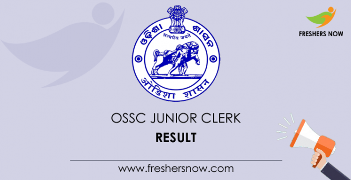 OSSC-Junior-Clerk-Result