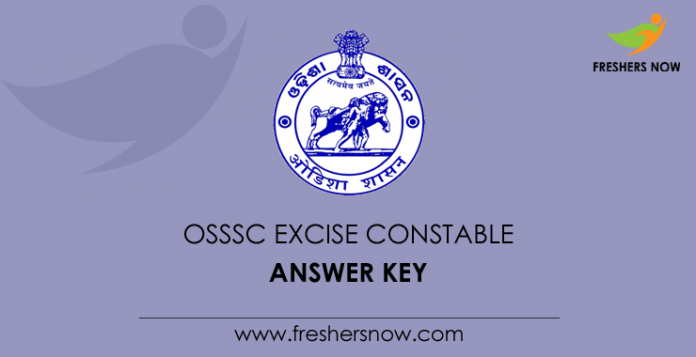 OSSSC Excise Constable Answer Key