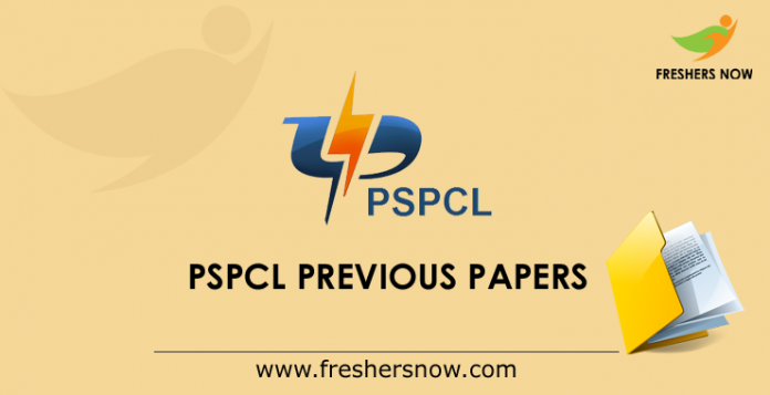 PSPCL Previous Papers