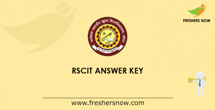 RSCIT Answer Key