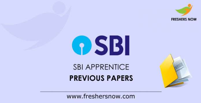 SBI Apprentice Previous Question Papers