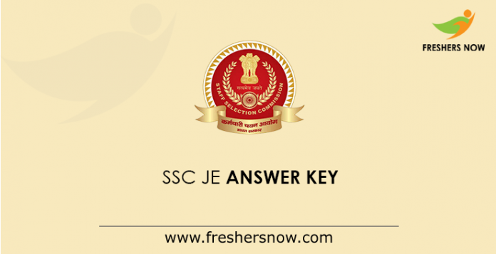 SSC JE Answer Key