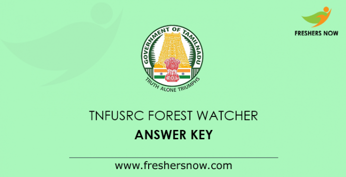 TNFUSRC Forest Watcher Answer Key