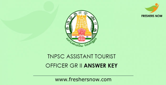 TNPSC Assistant Tourist Officer Answer Key