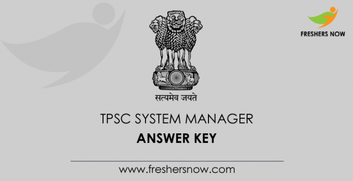 TPSC-System-Manager-Answer-Key