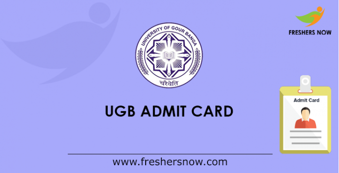 UGB Admit Card