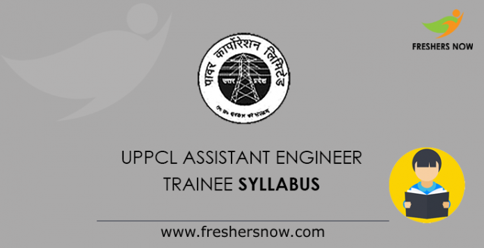 UPPCL Assistant Engineer Trainee Syllabus