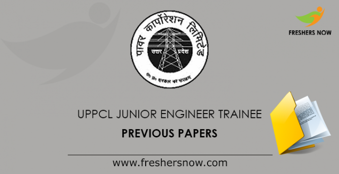 UPPCL Junior Engineer Trainee Previous Papers