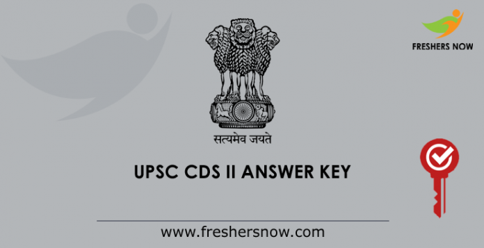 UPSC CDS 2 Answer Key 2019 PDF | Get 8th Sept CDS II Exam Key