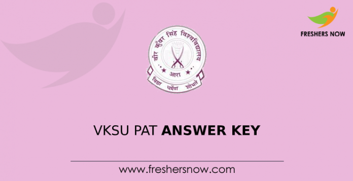 VKSU PAT Answer Key