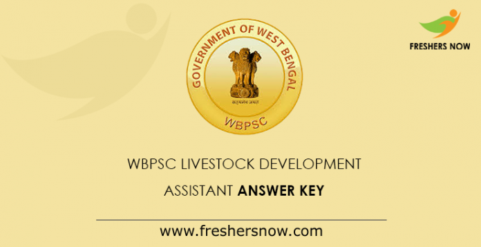 WBPSC Livestock Development Assistant  Answer Key
