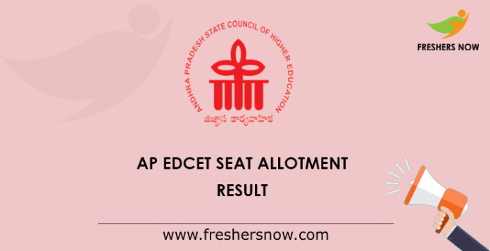 AP EdCET Seat Allotment Result
