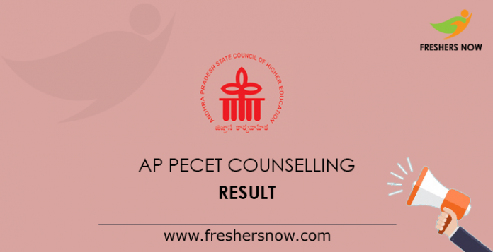 AP PECET Counselling Result