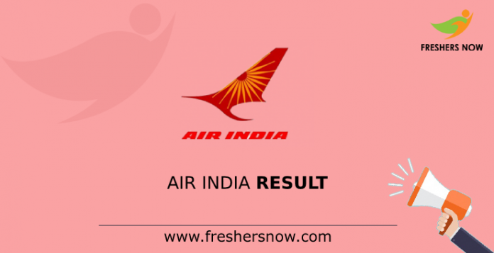Air India Result