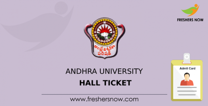 Andhra University Hall Ticket