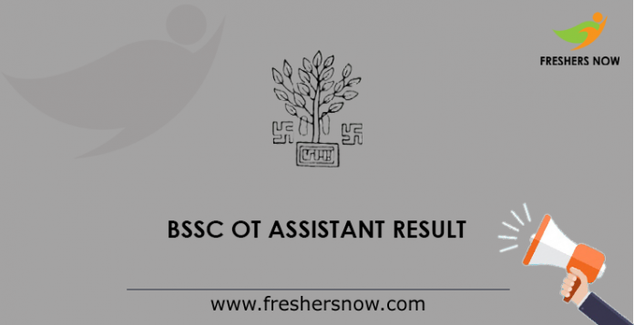 BSSC OT Assistant Result