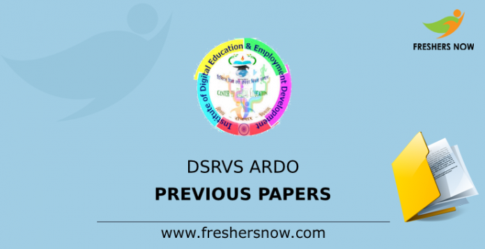 DSRVS ARDO Previous Papers