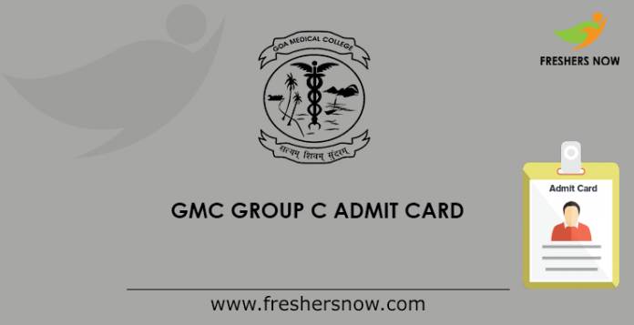 GMC Group C Admit Card