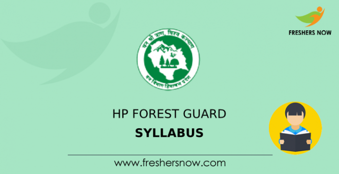 HP Forest Guard Syllabus