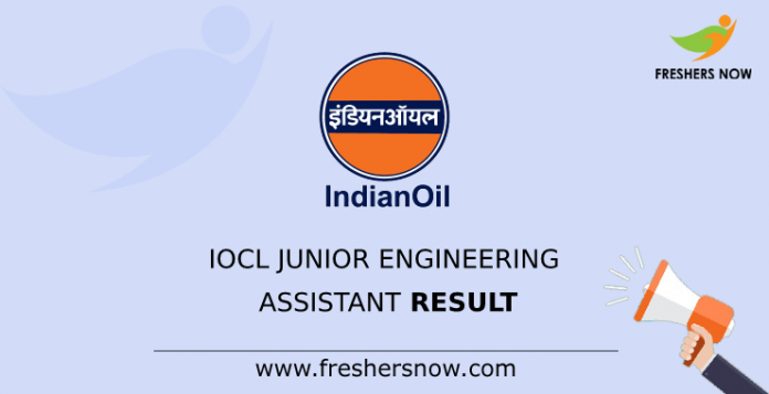 IOCL Junior Engineering Assistant Result