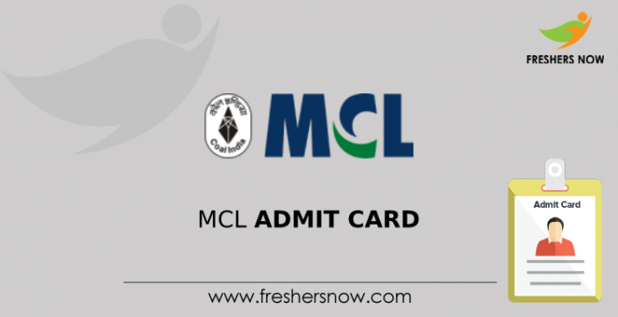MCL Admit Card