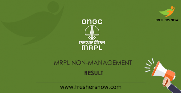 MRPL-Non-Management-Result