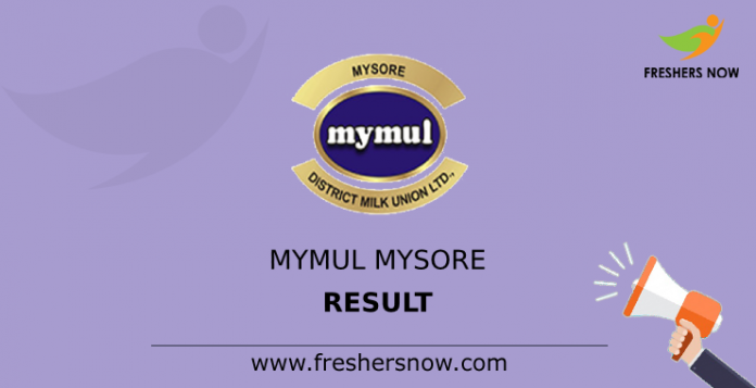 MYMUL Mysore Result