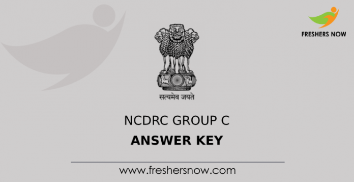 NCDRC Group C Answer Key