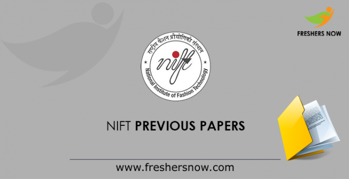 NIFT Previous Papers