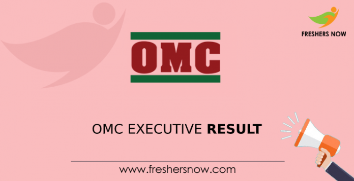OMC Executive Result