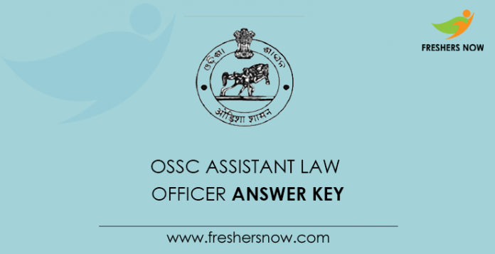 OSSC Assistant Law Anser Key