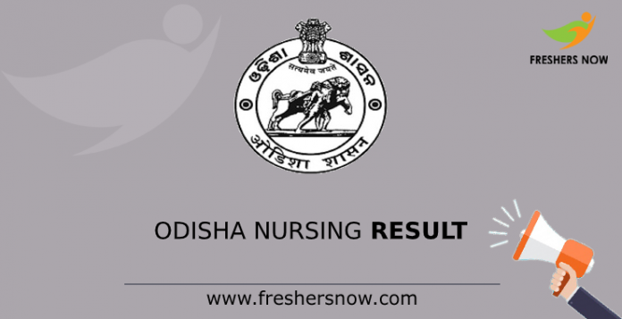Odisha Nursing Result
