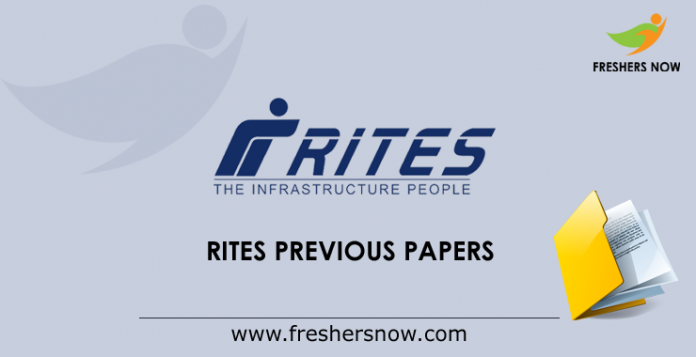 RITES Previous Papers
