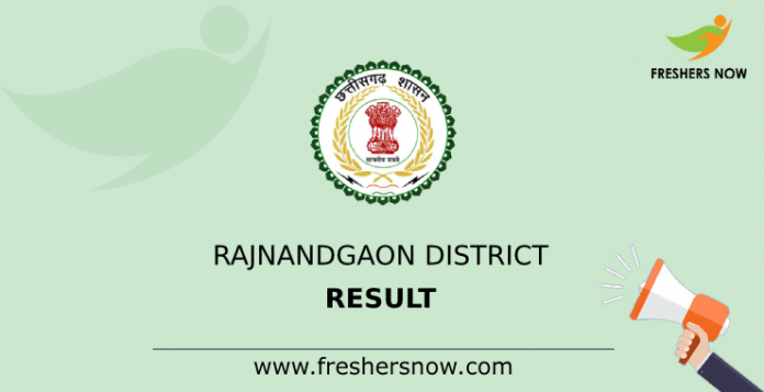 Rajnandgaon District Result