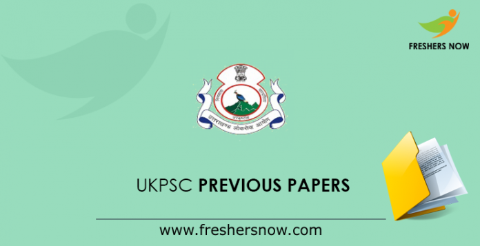 UKPSC Previous Papers