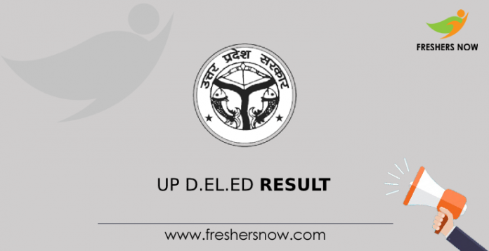 UP D.El.Ed Result