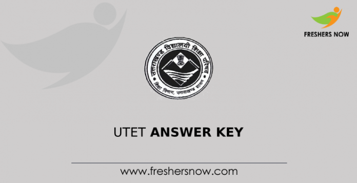 UTET Answer Key