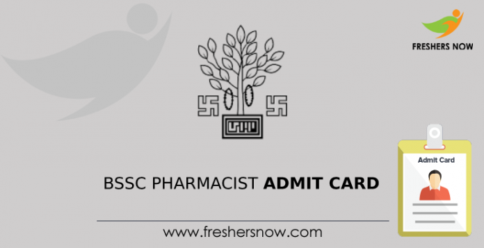 BSSC Pharmacist Admit Card