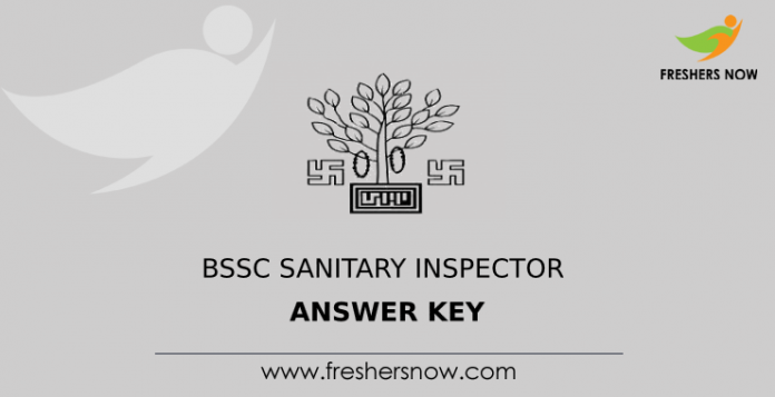 BSSC Sanitary Inspector Answer Key