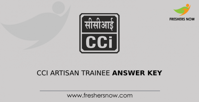 CCI Artisan Trainee Answer Key
