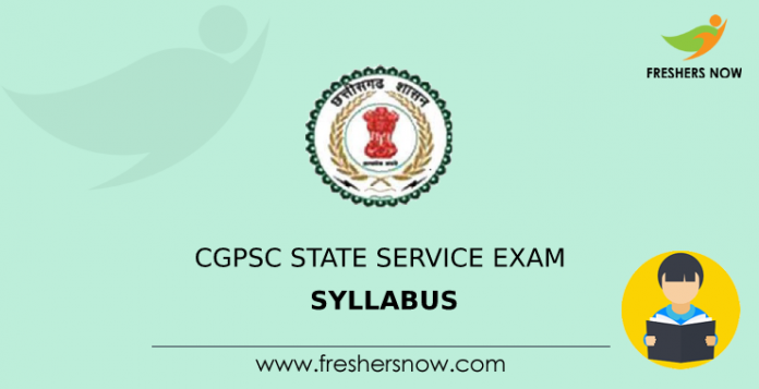 CGPSC State Service Exam Program