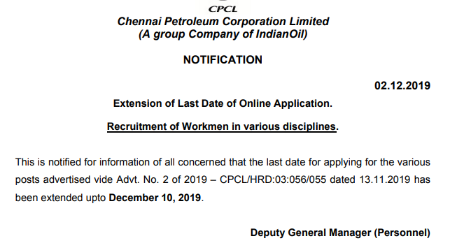CPCL Date Extension