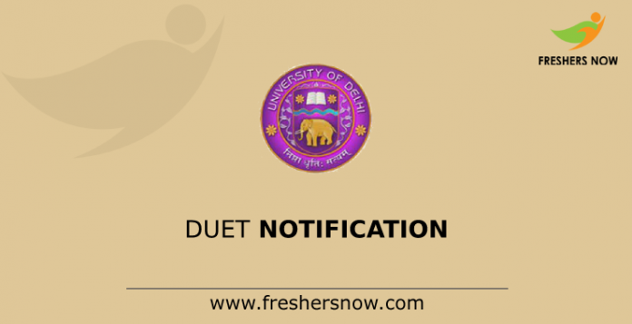 DUET Notification